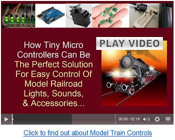 arduino train controllers