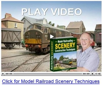 model railway scenery
